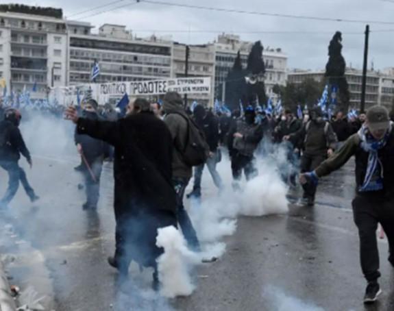 Ne prestaju protesti u Grčkoj
