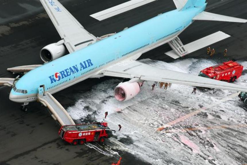 Nova drama: U Tokiju hitno evakuisan avion