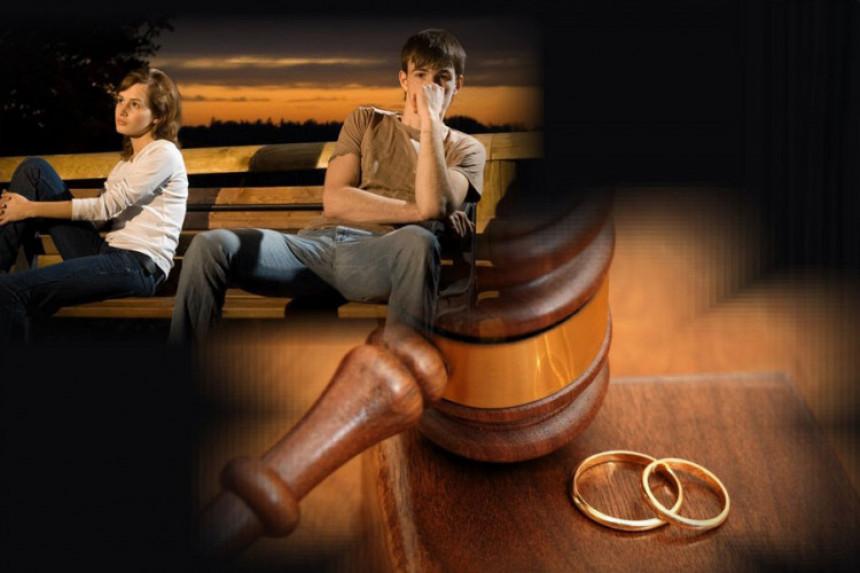 Krah doživi svaki peti brak