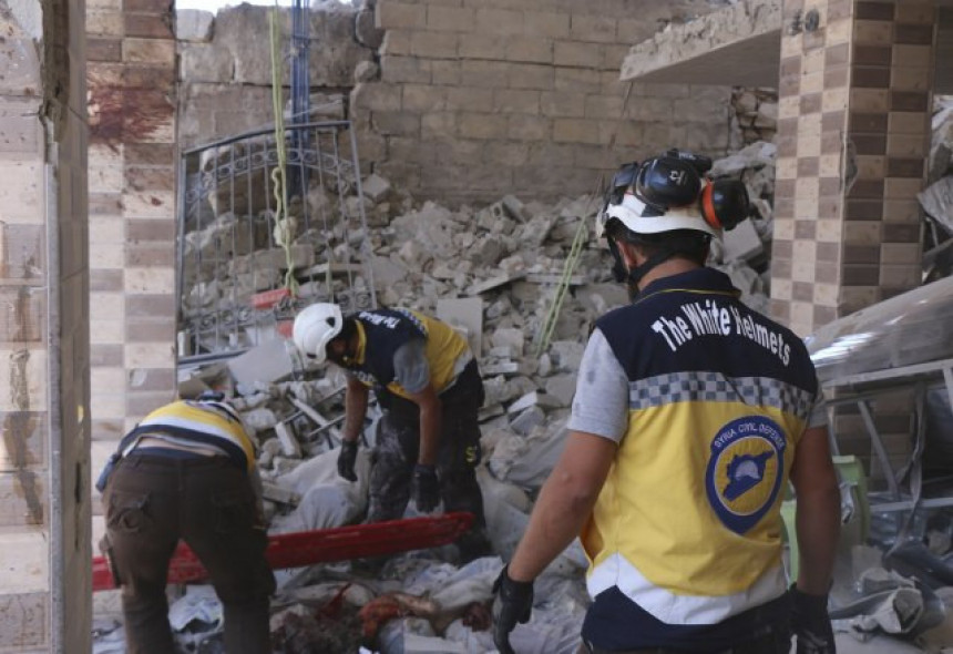 Potresni snimak napada u Siriji