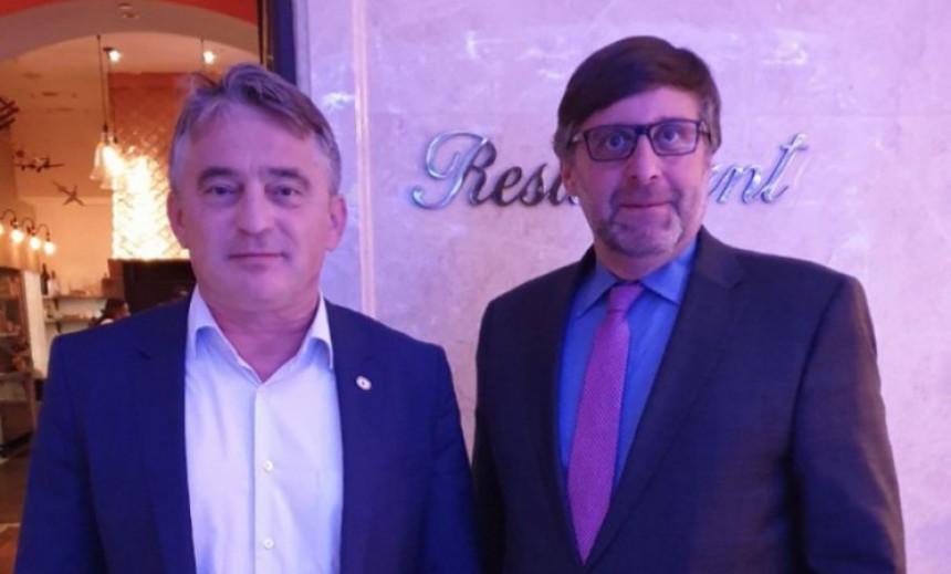 Komšić i Palmer razgovarali o situaciji u BiH