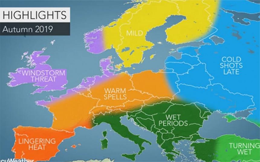 Padavine prijete Srbiji i Bosni i Hercegovini