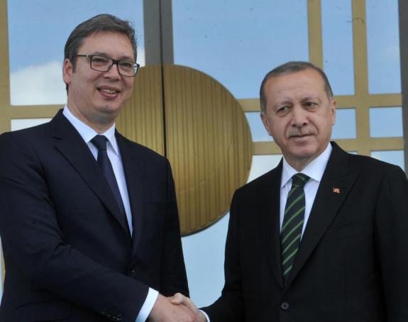 Vučić u Istanbulu sa Erdoganom