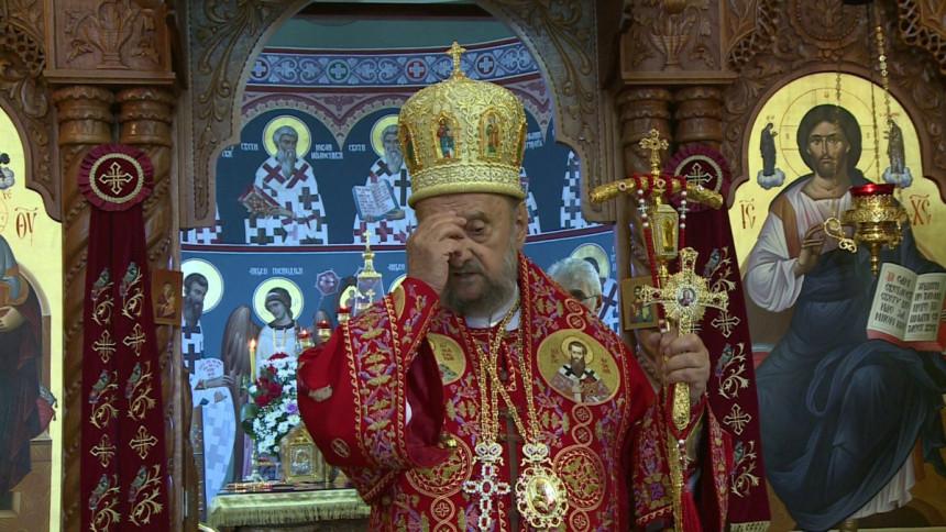 Vladika Vasilije služio u manastiru Svete Petke