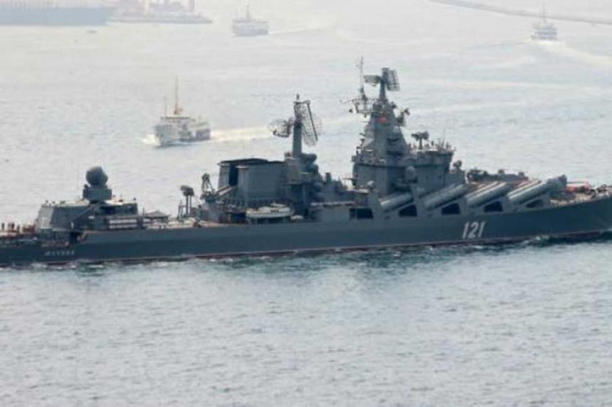 """Ruski S-400 i """"Moskva"""" stigli u Siriju"""