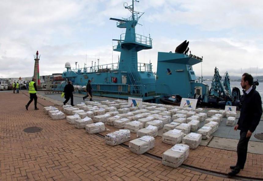 Pronađene tri tone kokaina u podmornici