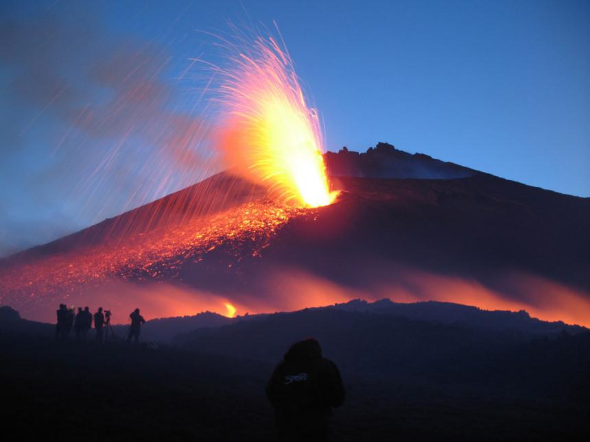 Ponovo aktivan vulkan Etna