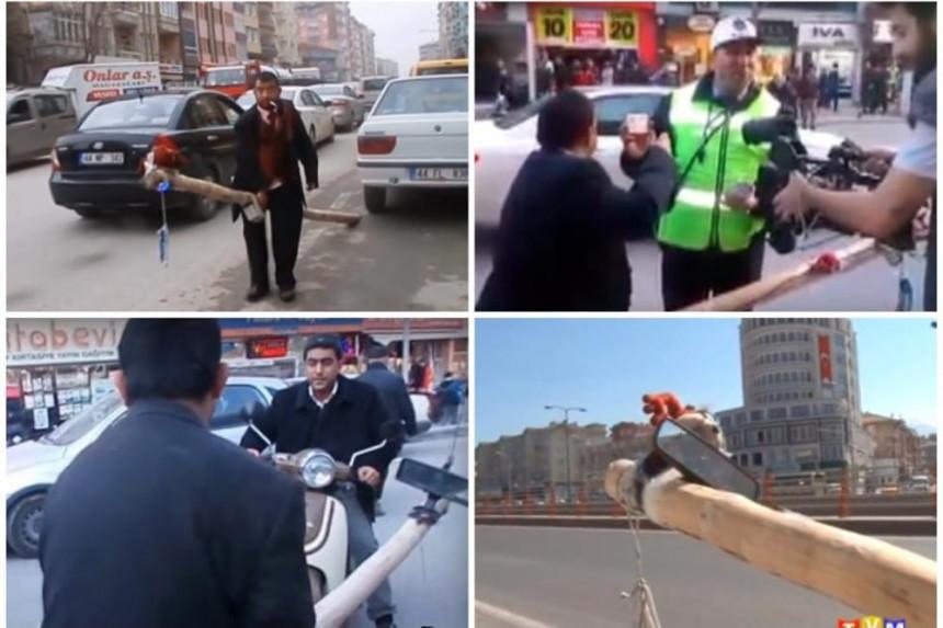 TURSKA: Kadir jaše motku uvjeren da je ''mercedes''
