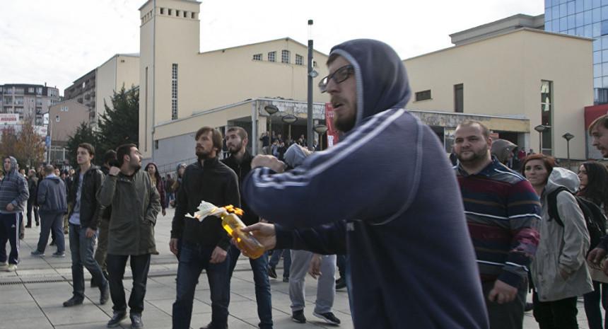 Počeo protest opozicije u Prištini