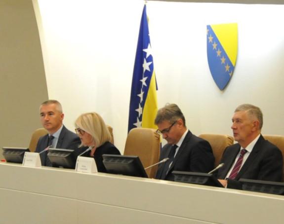 Zoran Tegeltija u Savjet ministara, BiH u NATO