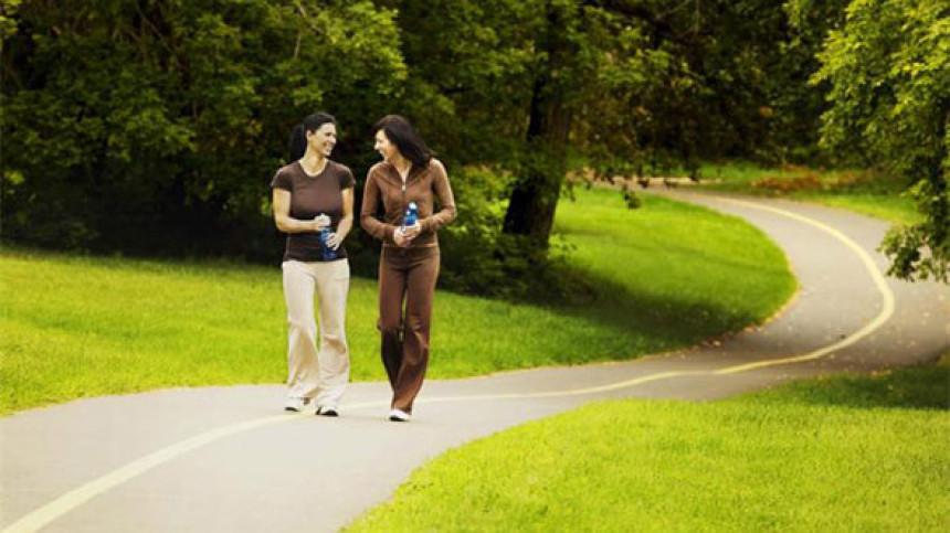 Pješačenje je najbolja rekreacija