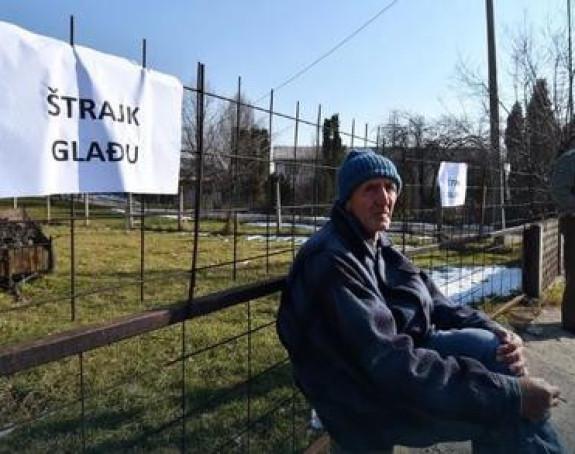 Radnici počeli s štrajkom glađu