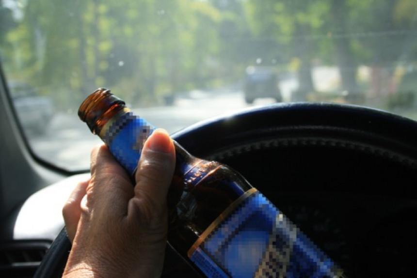 Vozač uhapšen sa 5,24 promila alkohola