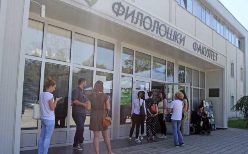 Tek 16 prijavljenih na studij srpskog jezika