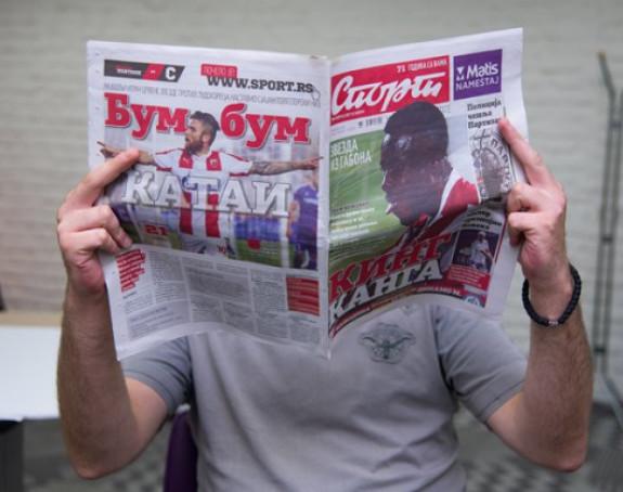 Štrajk:Novinari 'Sporta' se zatvorili u redakciju