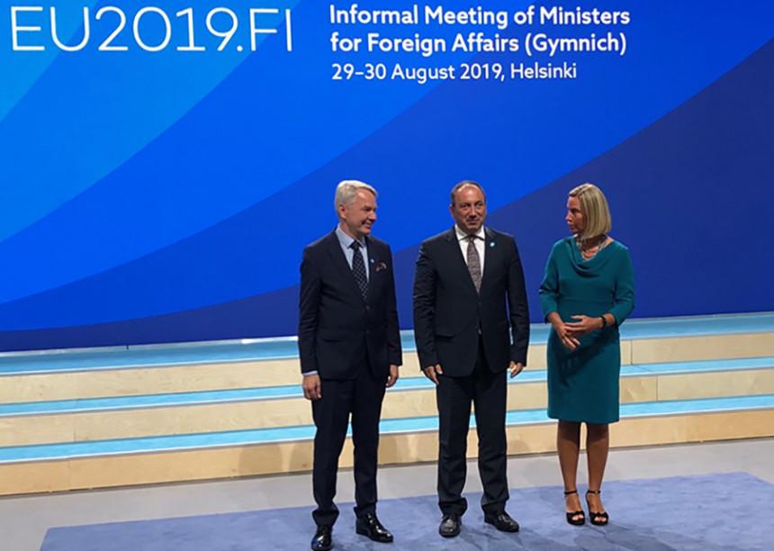 Ministar Crnadak stigao u Helsinki: Počeo sastanak