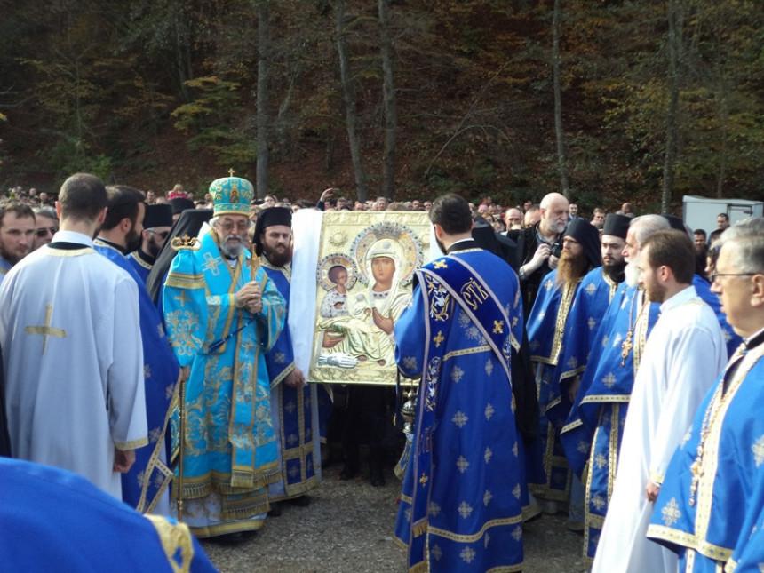 Чудотворна икона у Манастиру Осовица