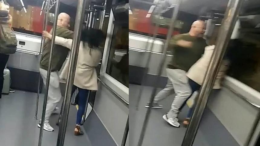 U aerodromskom autobusu pijani par se potukao
