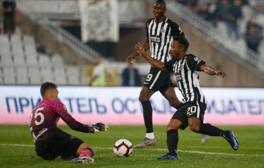 Partizan poražen od Čukaričkog
