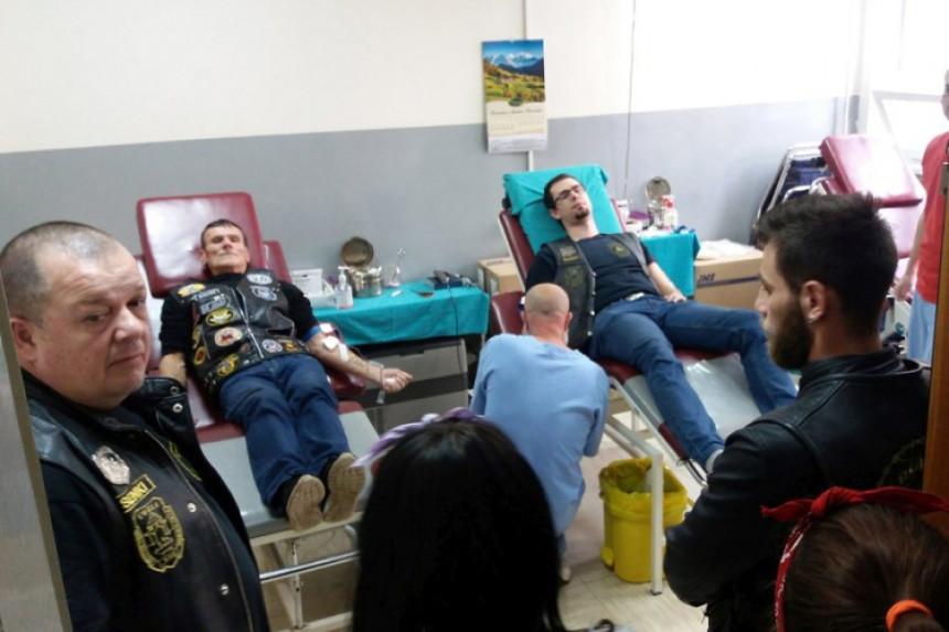 Bajkeri darovali pedeset doza krvi