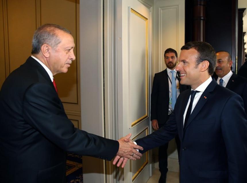 Erdogan najavio posjetu Parizu