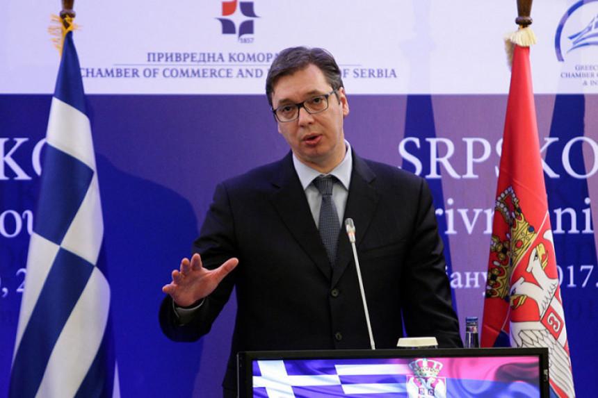 Srbija nema osvajačke namjere