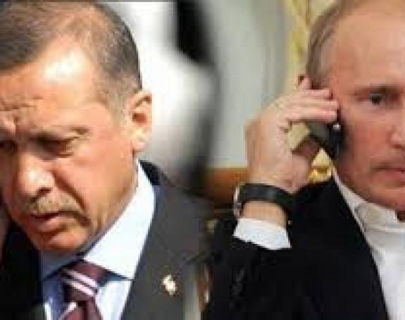 Erdogan i Putin saglasni o Siriji