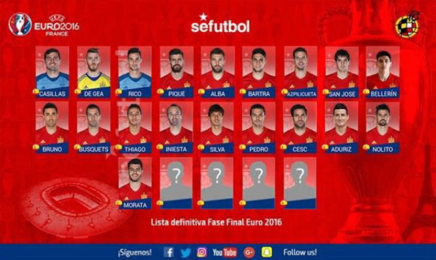A evo i ''Furije'' za EP: Španci pozvali Beljerina za EURO! Otpadaju još dvojica...!