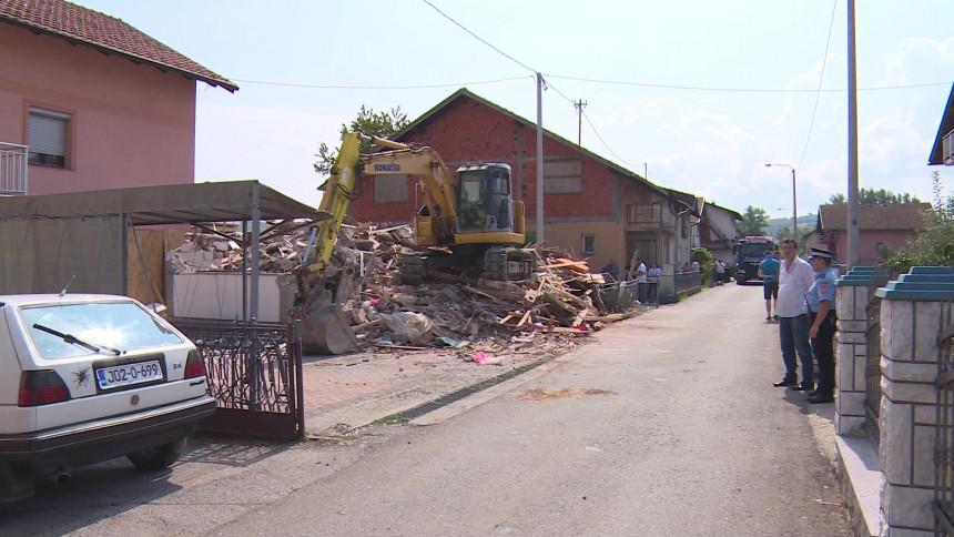 Banjaluka: Sporno rušenje kuće